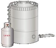工業用LPガス貯槽